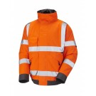 Hi Vis Orange Chivenor Class 3 Bomber Jacket