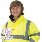 Childs Hi Vis Bomber Jacket