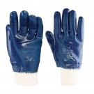 Blue Nitrile Coated Glove