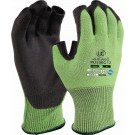 Kutlass 3 Digit Green Cut 5 grip glove