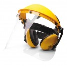 Visor & Ear Muff Combination Unit