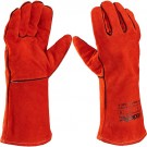 Red Cat2 Leather Welding Gauntlet