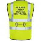 Social Distance Printed Vests