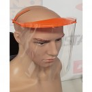 Clear Face Visor with Head Straps