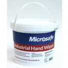 Microsafe Anti-Bac Industrial Hand Wipes