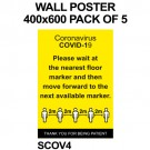 WALL POSTER 400x600 PACK OF 5