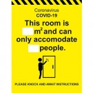 C-19 Room Accom Sign 400 x 300