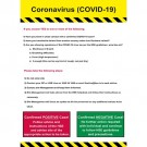 C-19 General Awareness Sign 900 x 600