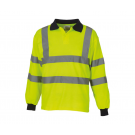 Hi Vis Long Sleeve Poloshirt