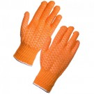 Criss Cross Cotton Coated Glove