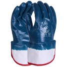 Blue Nitrile Safety Cuff Glove