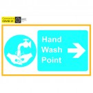 C-19 Hand Wash Point-Right 200x150