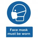 Mask Must Be Worn Sign