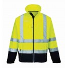 Hi Vis Softshell Two Tone Jacket