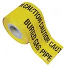 Underground Caution Tape Gas Pipe