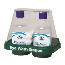 Double Eye Wash Domed Station