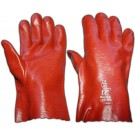 PVC Red 11inch Gauntlet
