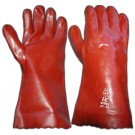 PVC Red 14Inch Gauntlet