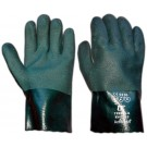 Pvc Double Dipped 11Inch Green Gauntlet