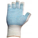 Nylon Fingerless Glove With Dots