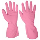 Pink Household Rubber Glove