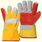 Chome Leather Double Palm Rigger Glove